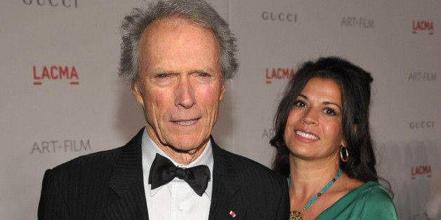 LOS ANGELES, CA - NOVEMBER 05:  Honoree Clint Eastwood and wife Dina Eastwood attend LACMA Art + Film Gala Honoring Clint Eas