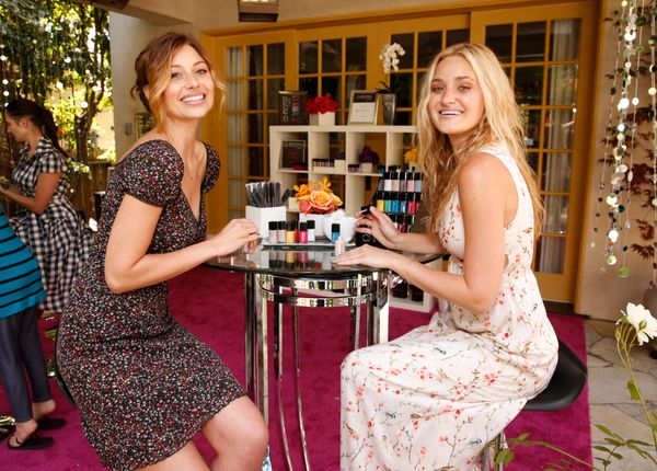 "This sister duo gained Disney stardom when they appeared in the channel's original movie ""Cow Belles"" together. Aly Michalka"
