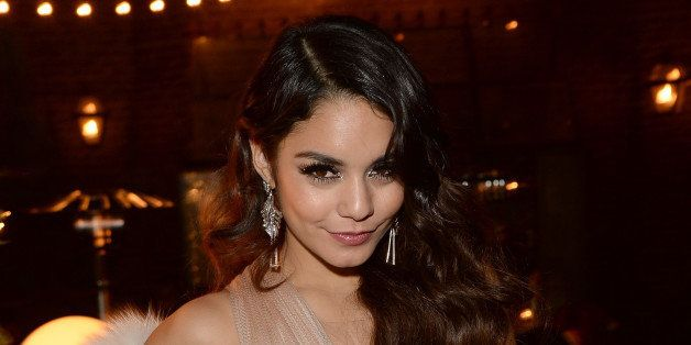 HOLLYWOOD, CA - DECEMBER 14:  (EXCLUSIVE ACCESS) Vanessa Hudgens attends her birthday party held at No Vacancy on December 14