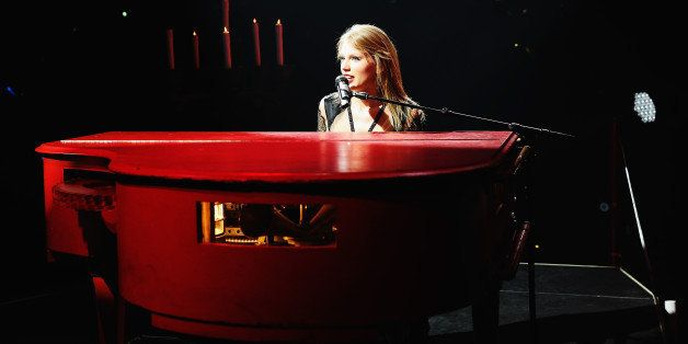 AUCKLAND, NEW ZEALAND - NOVEMBER 29:  Seven-time Grammy winner Taylor Swift kicked off the international portion of her block
