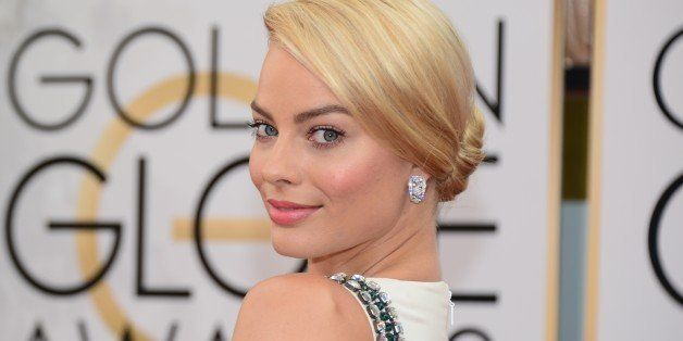 Actress Margot Robbie arrives on the red carpet of the 71st Annual Golden Globe Awards in Beverly Hills, California, on Janua