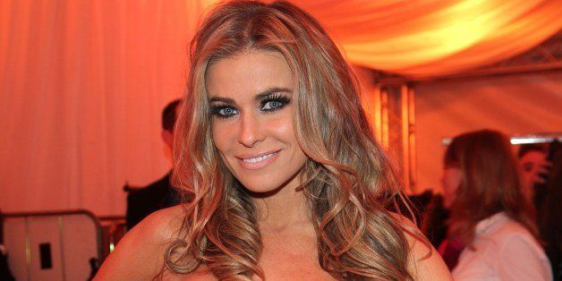 COLOGNE, GERMANY - JANUARY 27:  Carmen Electra attends the Lambertz Monday Night at Alter Wartesaal on January 27, 2014 in Co