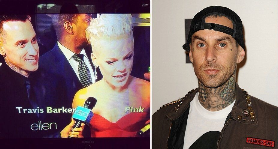 "After interviewing P!nk and her husband, motorcycle racer Carey Hart on the Golden Globes red carpet, ""The Ellen DeGeneres Sh"