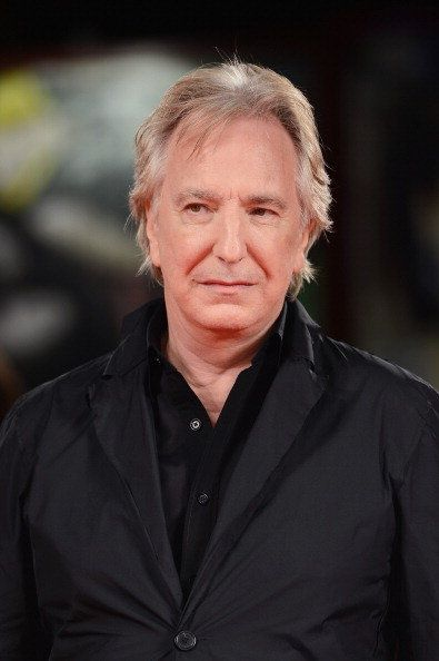 Rickman has won numerous acting awards, including a BAFTA, a Golden Globe and a Screen Actors Guild Award, but he didn't land