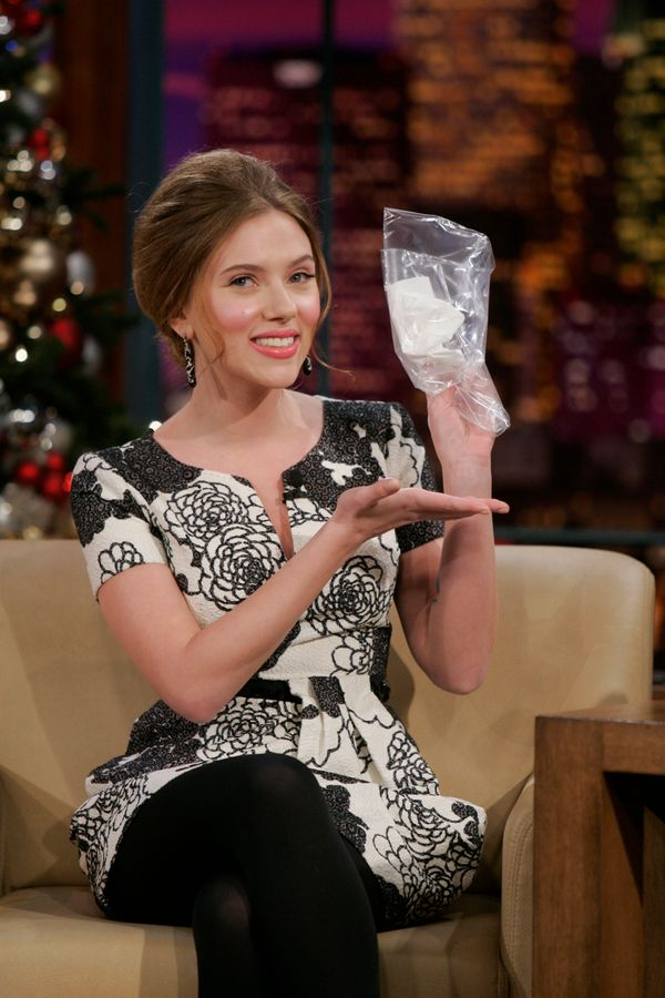 In 2008, Scarlett Johansonn caught a cold from Samuel L. Jackson and made some lucky fan very, very happy. The actress auctio