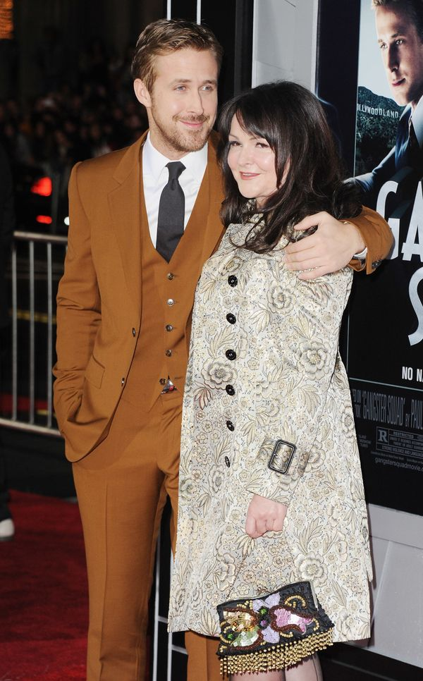 Gosling and his mother are extremely close, partially thanks to the year that she spent homeschooling him while he was young.