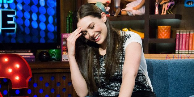WATCH WHAT HAPPENS LIVE -- Pictured: Elizabeth Olsen -- Photo by: Charles Sykes/Bravo/NBCU Photo Bank via Getty Images