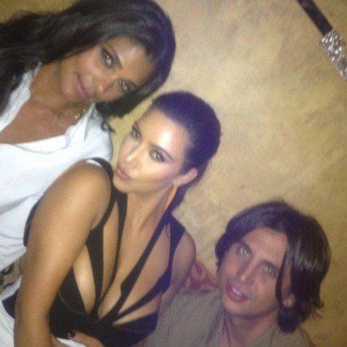 "Yep, that's fashion designer Rachel Roy, who has a <a href=""http://kimkardashian.celebuzz.com/tag/rachel-roy/page/2/"" target="