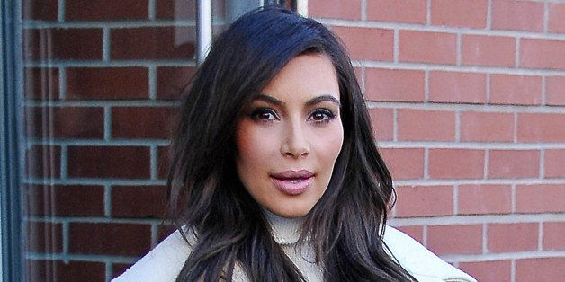 NEW YORK, NY - FEBRUARY 22:  Kim Kardashian is seen on February 22, 2014 in New York City.  (Photo by NCP/Star Max/GC Images)