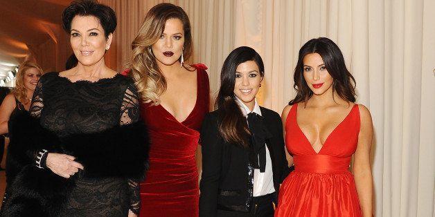 WEST HOLLYWOOD, CA - MARCH 02:  (L-R) Kris Jenner, Khloe Kardashian, Kourtney Kardashian and Kim Kardashian attend the 22nd A