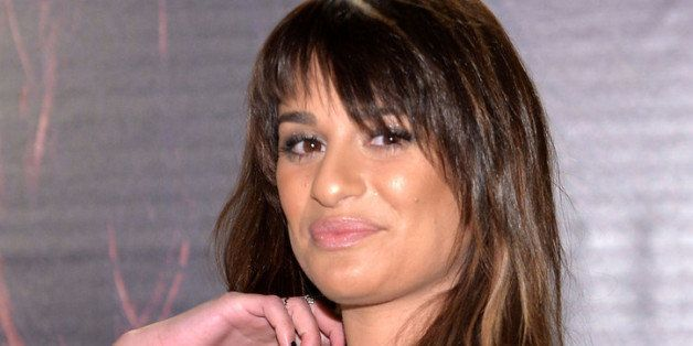 NEW YORK, NY - MARCH 04:  Singer Lea Michele attends the 'Louder' CD signing event at Sony Store on March 4, 2014 in New York