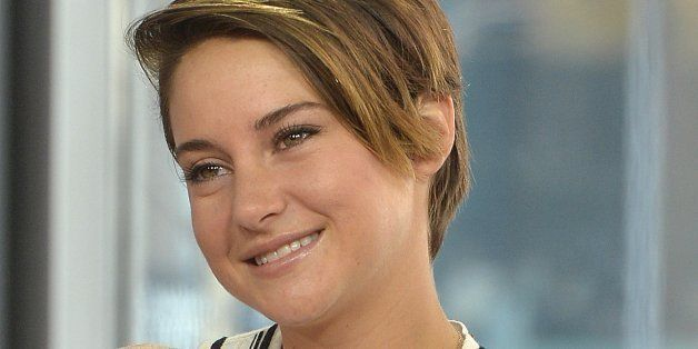 TORONTO, ON - MARCH 06:  Shailene Woodley talks about her role as Tris Prior  in the film Divergent at The Morning Show Studi