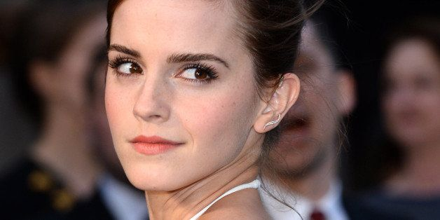 LONDON, ENGLAND - MARCH 31:  Emma Watson attends the UK premiere of 'Noah' held at the Odeon Leicester Square on March 31, 20