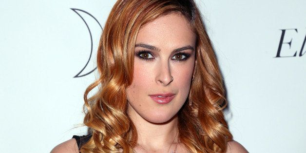 WEST HOLLYWOOD, CA - APRIL 04:  Actress Rumer Willis attends Tallulah Willis and Mallory Llewellyn celebrating the launch of