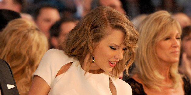 LAS VEGAS, NV - APRIL 06:  Singer/songwriter Taylor Swift attends the 49th Annual Academy Of Country Music Awards at the MGM