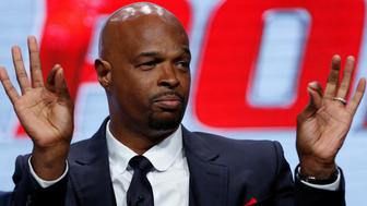 """Cast member Damon Wayans speaks at a panel for the television series """"Lethal Weapon"""" during the TCA FOX Summer Press Tour in Beverly Hills, California U.S., August 8, 2016.   REUTERS/Mario Anzuoni"""