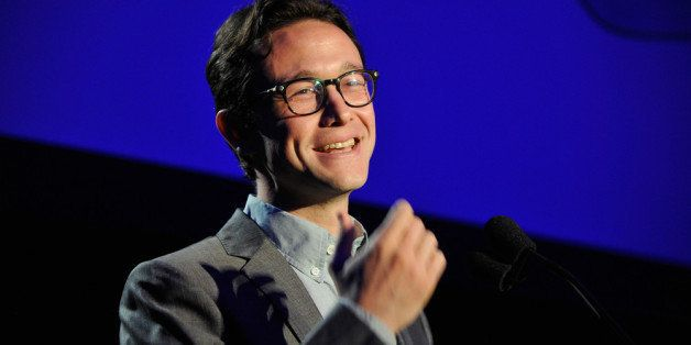 HOLLYWOOD, CA - APRIL 05:  Actor Joseph Gordon-Levitt speaks onstage during the 3rd Annual Reel Stories, Real Lives Benefitin