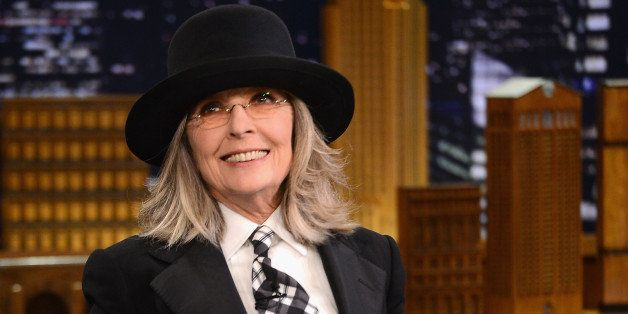 NEW YORK, NY - APRIL 29:  Diane Keaton visits 'The Tonight Show Starring Jimmy Fallon' at Rockefeller Center on April 29, 201