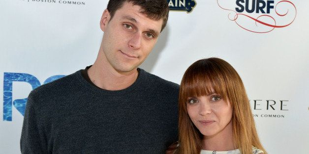 BOSTON, MA - MAY 18:  (L-R) James Heerdegen and Christina Ricci attend the Rooftop @ Revere Launch Party at The Revere Hotel