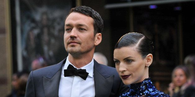 LONDON, ENGLAND - MAY 14:  Director Rupert Sanders and Liberty Ross  attend the World Premiere of 'Snow White And The Huntsma
