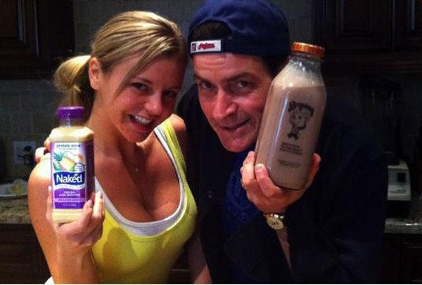 Charlie sheen with naked women photo picture 15