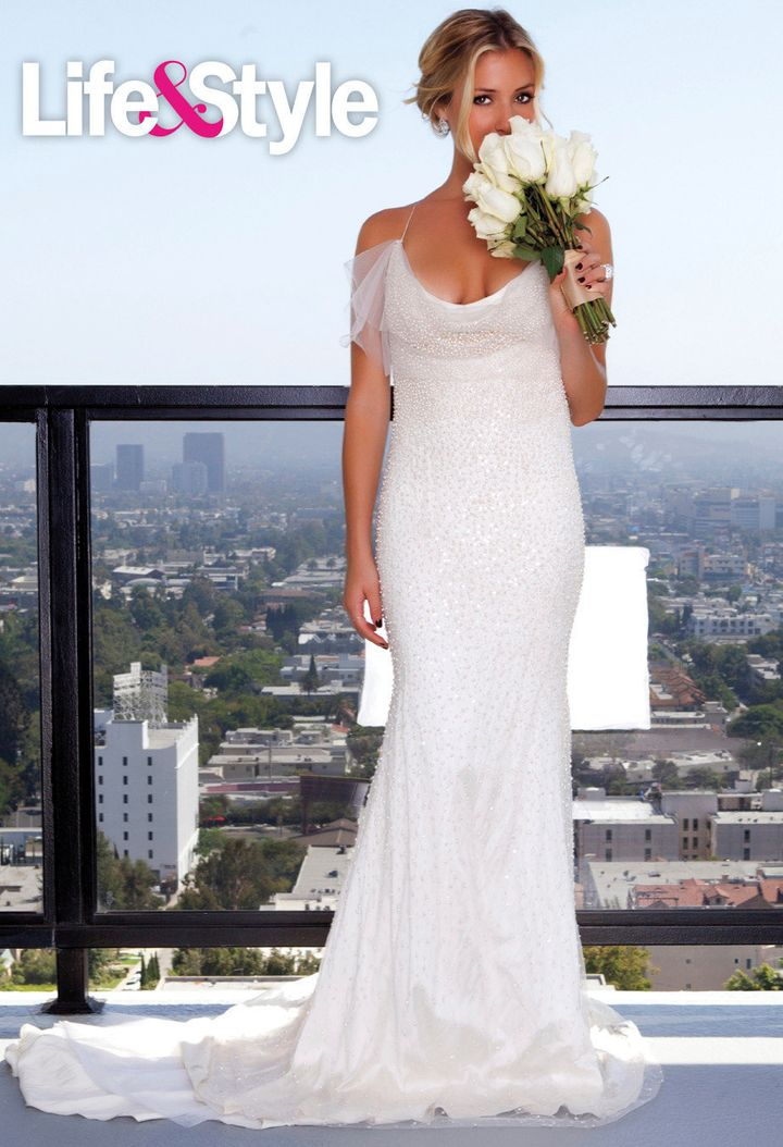 Kristin Cavallari Wedding.Kristin Cavallari Poses In Wedding Gowns Days Before Engagement Was