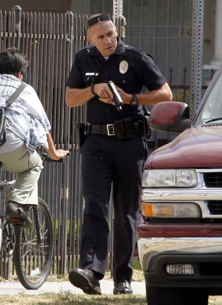 Jake Gyllenhaal In 'End Of Watch': Patrolling As LAPD