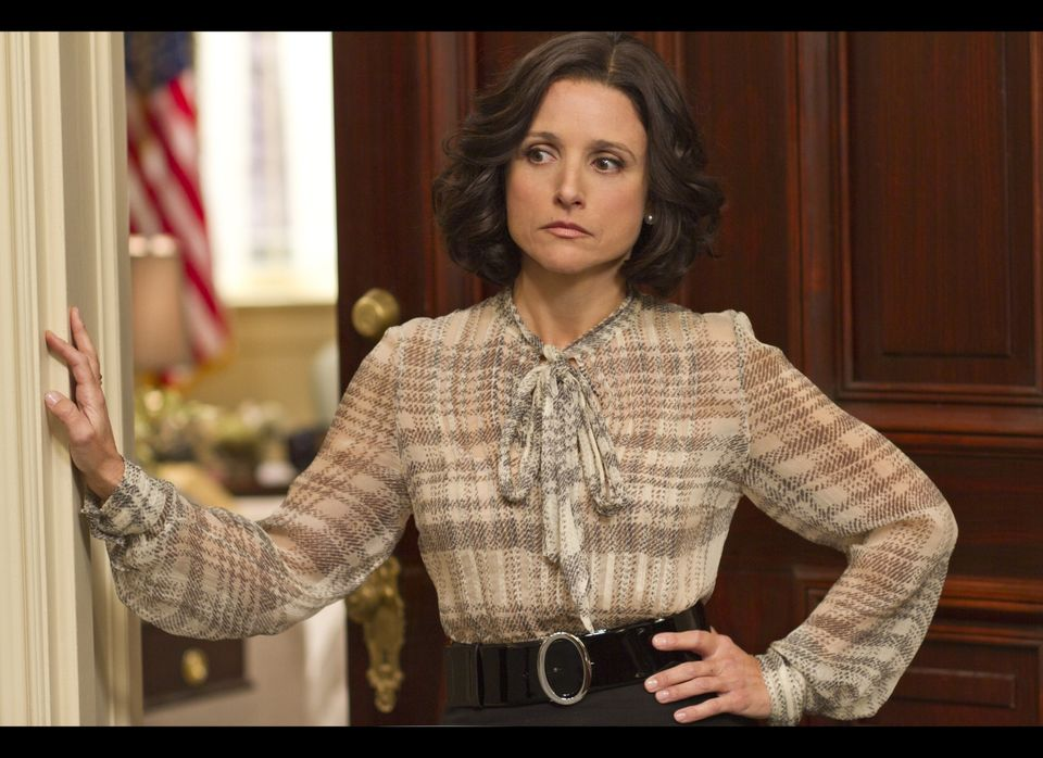 Julia Louis-Dreyfus stars as Vice President Selina Meyer.