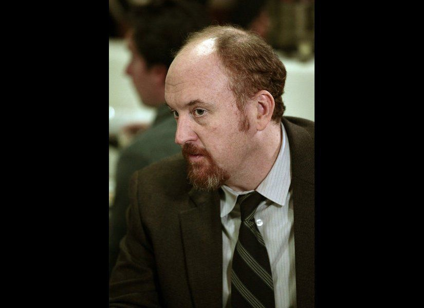 "Louis C.K. returns to ""Parks and Recreation"" as Dave, Leslie Knope's old boyfriend. 