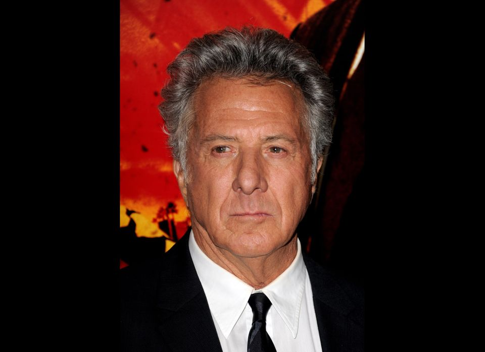 LOS ANGELES, CA - JANUARY 25:  Actor/producer Dustin Hoffman arrives at the premiere of HBO's 'Luck' at the Chinese Theater o