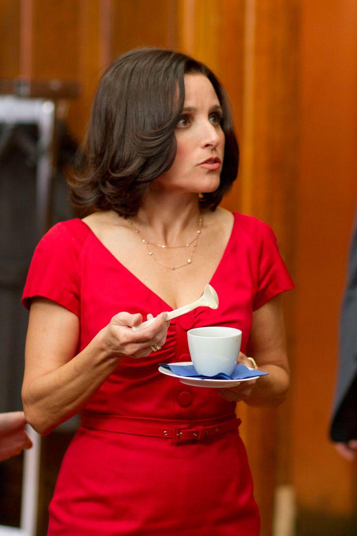 Veeps Julia Louis-Dreyfus Lunches with Biden - NBC Los