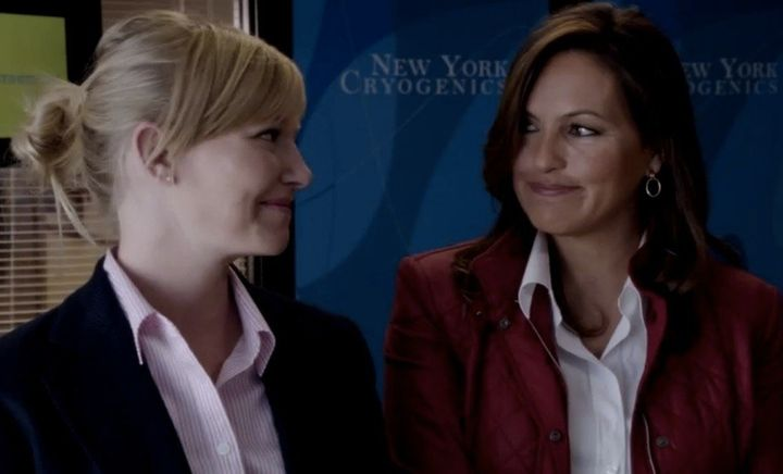 Law And Order: SVU': Kelli Giddish Talks Playing Mariska