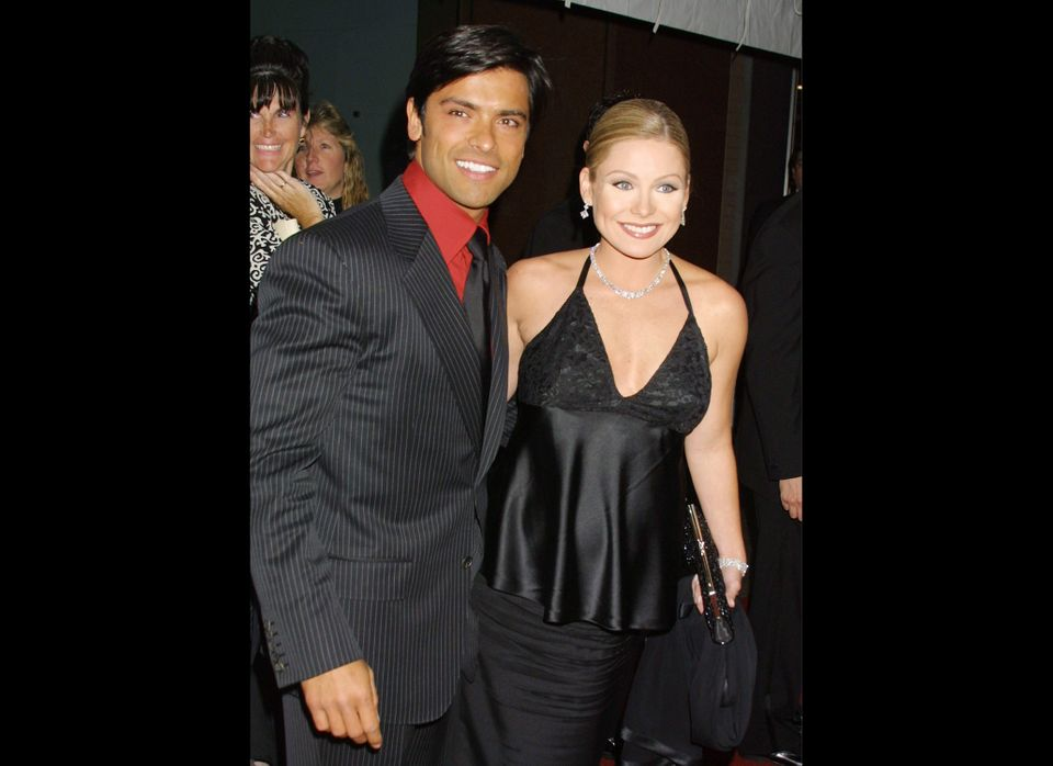 """During their 10-plus years on """"All My Children,"""" Kelly Ripa and Mark Consuelos found love. Here's the couple, who married in"""