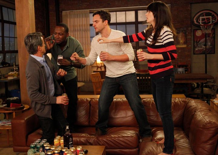 New Girl': True American Drinking Game Rules   HuffPost