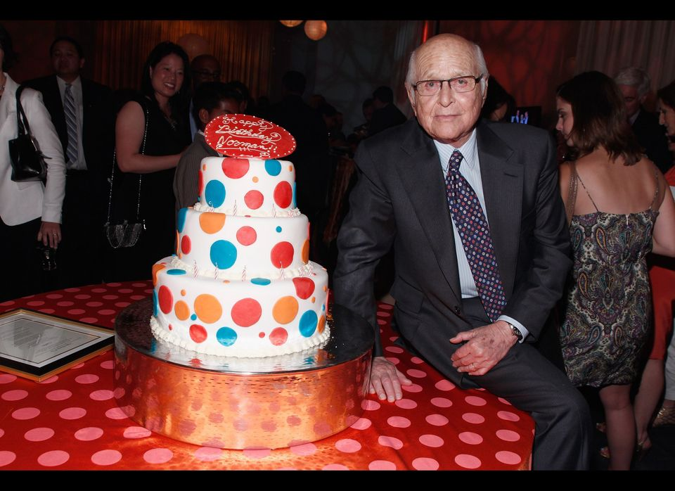 Norman Lear attends the People For The American Way Foundation's celebration of Norman Lear's 90th Birthday and the Young Ele