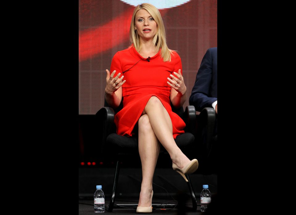 """""""Awesome hummus."""" - """"Homeland"""" star Claire Danes on the perks of working in Israel"""