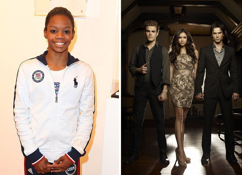"We know that all-around gymnastics champion Gabby Douglas is a huge fan of the CW drama (<a href=""http://www.huffingtonpost.c"