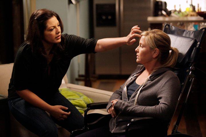 Greys Anatomy Callie And Arizonas Relationship Repair Is Not