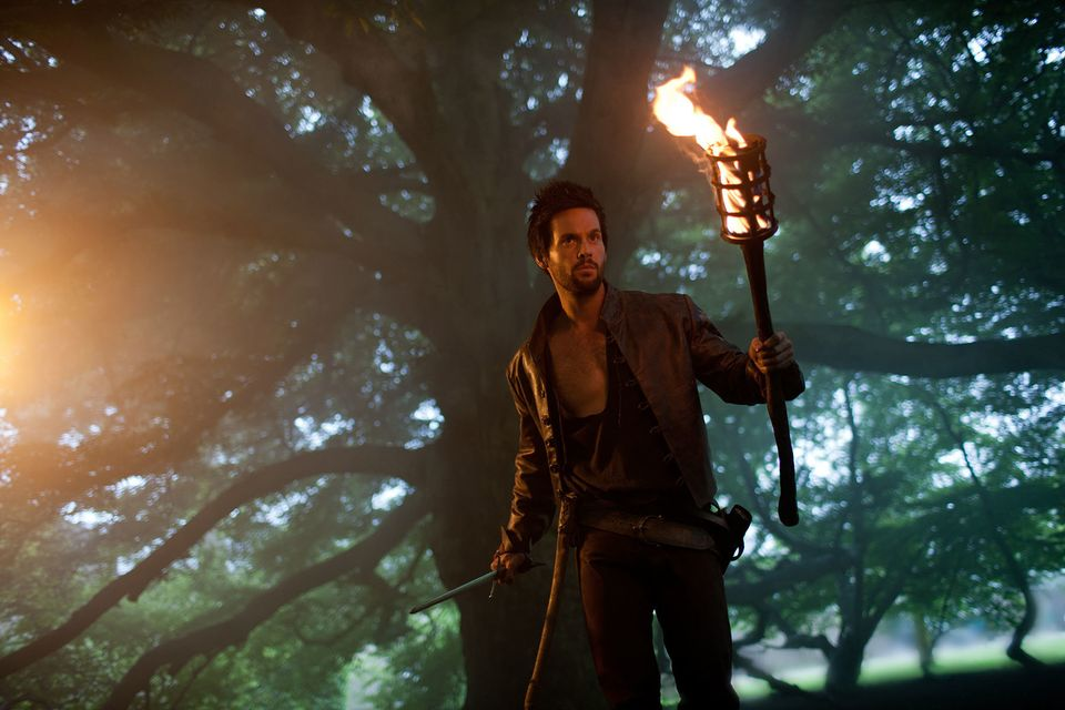 "Tom Riley as Leonardo Da Vinci in Starz's ""Da Vinci's Demons,"" coming Spring 2013."