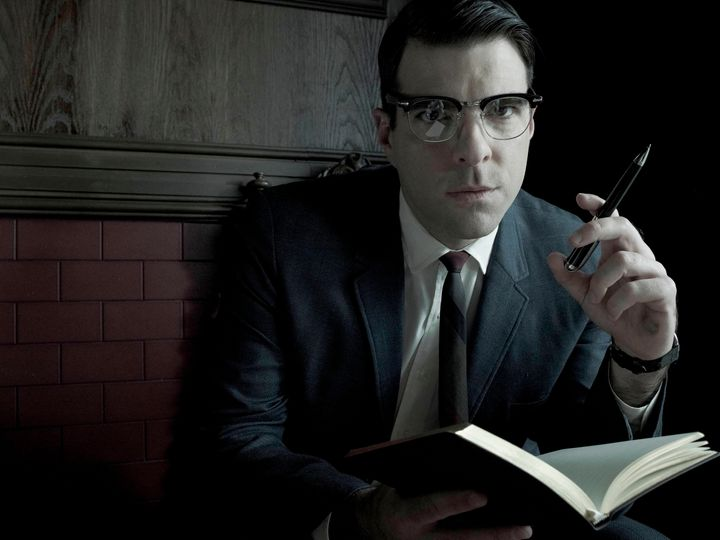 American Horror Story: Asylum': Zachary Quinto On Being Bloody Face