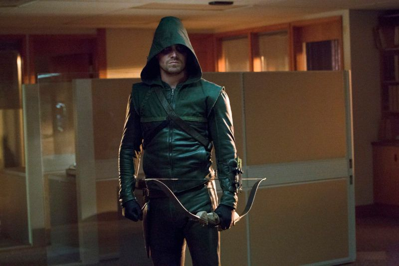 A tortured hero masquerading as a billionaire playboy, Stephen Amell's Oliver Queen not only kicks ass (and looks good doing