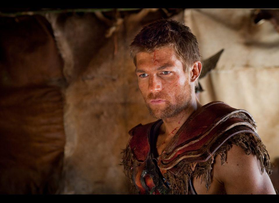Episode One- Liam McIntyre as Spartacus.