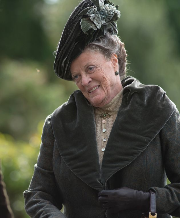 Superb Maggie Smith As Dowager Countess Comedy And Double Take Forskolin Free Trial Chair Design Images Forskolin Free Trialorg