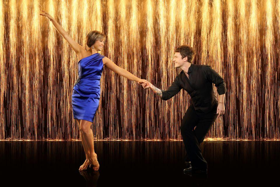 Dorothy Hamill & Tristan MacManus