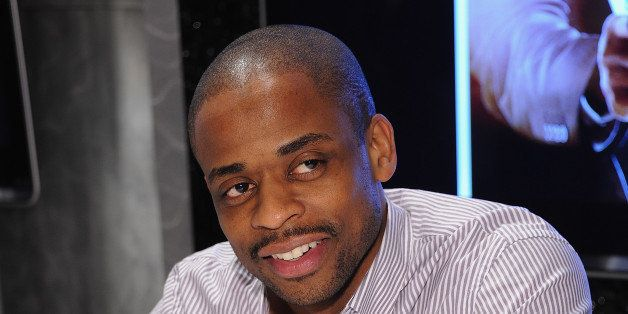 NEW YORK, NY - FEBRUARY 29:  Dule Hill visits the NBC Experience Store on February 29, 2012 in New York City.  (Photo by Dimi