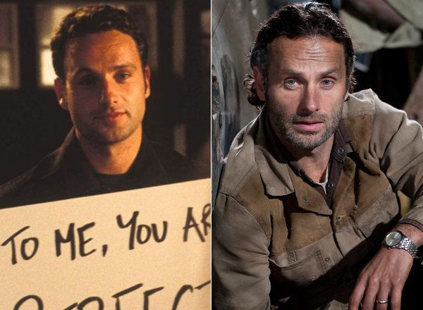 Before Andrew Lincoln was protecting his post-apocalyptic friends against zombies and a one-eyed Governor as Rick Grimes on ""