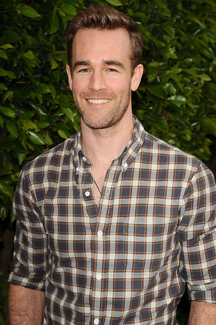 HOLLYWOOD, CA - MARCH 14:  Actor James Van Der Beek attends 'The Biggest Baby Shower Ever' at Taglyan Cultural Complex on Mar