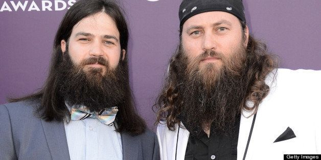 LAS VEGAS, NV - APRIL 07:  TV personalities Jep Robertson (L) and Willie Robertson of 'Duck Dynasty' attend the 48th Annual A
