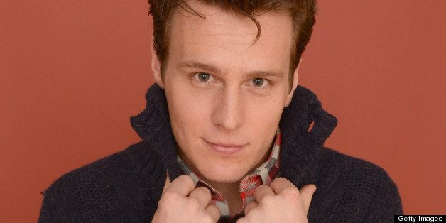 PARK CITY, UT - JANUARY 21:  Actor Jonathan Groff poses for a portrait during the 2013 Sundance Film Festival at the Getty Im