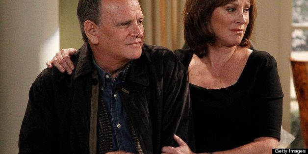 ONE LIFE TO LIVE - Robert S. Woods (Bo) and Hillary B. Smith (Nora) in a scene that airs the week of January 9, 2012 on ABC D